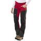 Lundhags Antjah Spodnie długie Kobiety czerwony/czarny